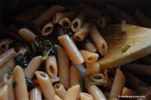 Whoe wheat penne pasta
