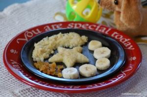 Semoline pasta cake for toddlers