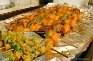 tandoori kabob vegetables